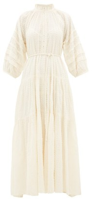 Apiece Apart Trinidad Waist-tie Dress - Womens - Cream