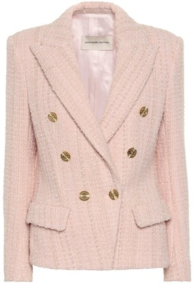Alexandre Vauthier Wool-blend tweed blazer