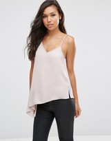 Asos Asymmetric Strap Detail Cami Top