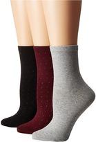 Kate Spade All Over Embellished 3-Pack Anklet