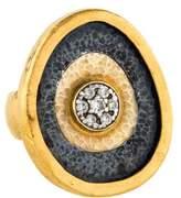 Gurhan Diamond Concentric Circle Ring