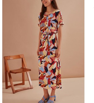 Des Petits Hauts Tanao Dress Multicolour - L