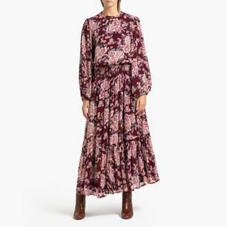 Petite Mendigote AMANDINE Long Chiffon Dress