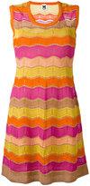 M Missoni wavy panel dress - women - Polyester/Polyamide/Viscose/Cotton - 40