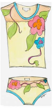 "Jennifer Goldberger Fun Wear Iv Childrens Art Canvas Art - 36.5"" x 48"""