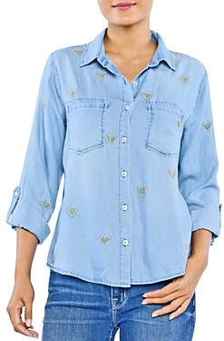 BILLY T Lovefest Embroidered Shirt