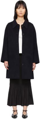 The Loom Navy Point Collar Coat