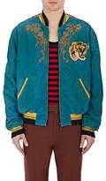 Gucci Men's Stretch-Cotton Oversized Bomber Jacket