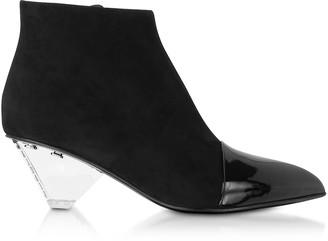 Balmain PVC Livy Ankle Boots