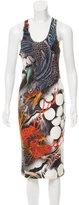 Christopher Kane Silk Dragon Print Dress w/ Tags