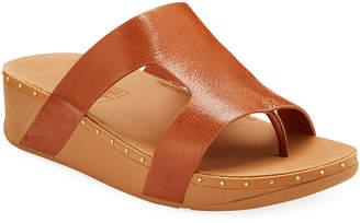 FitFlop Marli Cutout Wedge Slide Sandals