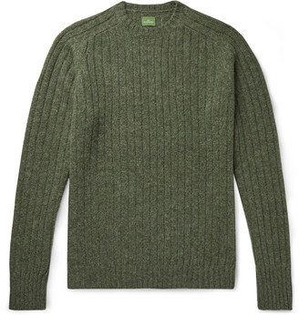 Melange Home Ribbed Wool Sweater