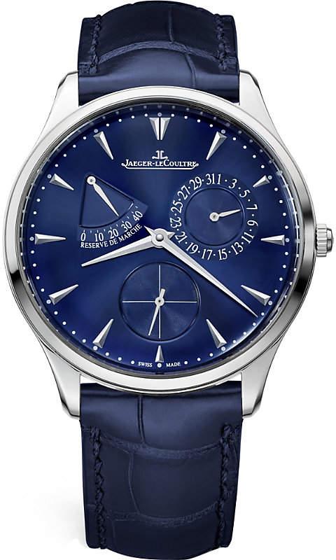 Jaeger-LeCoultre Master Ultra Thin Réserve de Marche stainless steel watch
