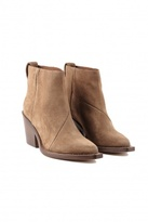 ACNE Donna Suede Boot Mocca