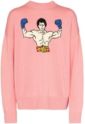 Ader Error rocky balboa knitted jumper