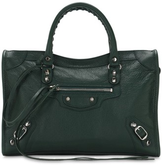 Balenciaga Sm Classic City Leather Top Handle Bag