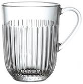 "La Rochere Vertical Line Glass Coffee Mug ""Ouessant"" (Set of 6)"
