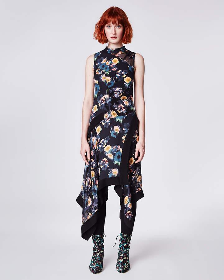 Nicole Miller Vintage Floral Dress