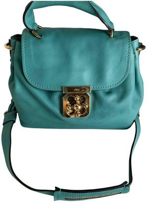 Chloé Elsie Green Leather Handbags