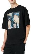 Topman Men's Rolling Stones Graphic Oversized T-Shirt