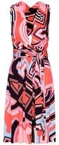 Emilio Pucci Printed Silk-blend Jersey Dress