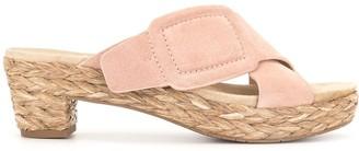 Pedro Garcia Braided Raffia Sole Sandals