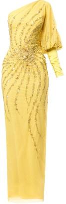 Saiid Kobeisy One-Shoulder Maxi Dress
