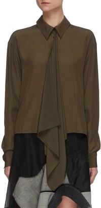J.W.Anderson Drape front blouse