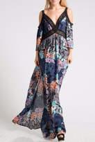 Fashionomics Floral Off Shoulder Dress