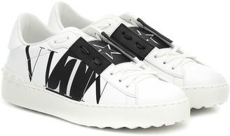 Valentino Garavani Open VLTN leather sneakers