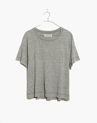 Madewell Rivet & Thread Triblend Oversized Boxy-Crop Tee