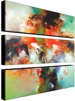 "Zavaleta ""Abstract II"" 3-Panel, Giclee-Print Set"