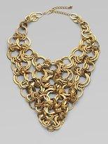 Ring Matrix Bib Necklace