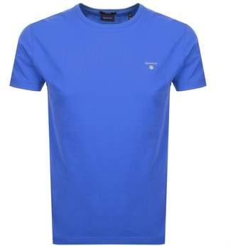 Gant Original T Shirt Blue