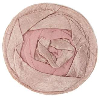 Ann Demeulemeester Rose Satin And Crepe Pin - Womens - Pink