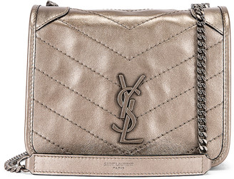 Saint Laurent Chain Wallet Bag in Piombo | FWRD