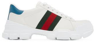 Gucci White Nathane Sneakers