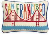 Jonathan Adler San Francisco Needlepoint Throw Pillow