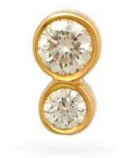 Sophie Bille Brahe Lulu Diamond & 18kt Gold Single Earring - Yellow Gold