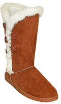 Dawgs Women's 13 Inch 5 Button Microfiber Winter Boot