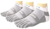 Coolmax Injinji - Run Midweight No Show 3 Pair Pack No Show Socks Shoes