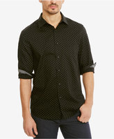 Kenneth Cole Reaction Men's Mini-Triangle Cotton Shirt
