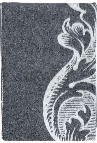 Trussardi Casato Jacquard Wool Throw Blanket
