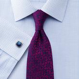 Charles Tyrwhitt Pink silk luxury floral tie