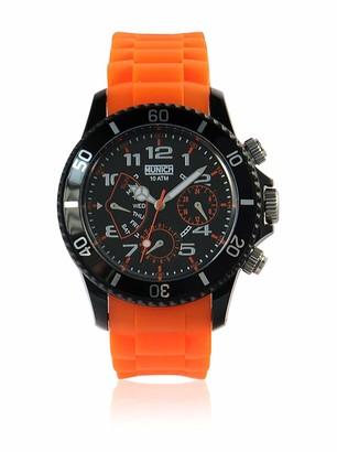 Munich Unisex Adult Analogue Quartz Watch with Silicone Strap MU+119.5A