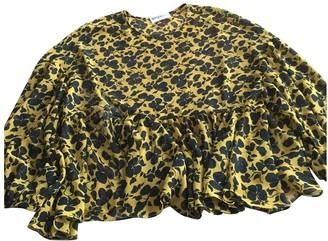 Essentiel Antwerp Yellow Polyester Tops