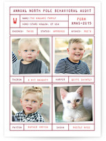 Minted Behavioral Audit Christmas Photo Cards
