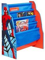 Spiderman Marvel Kids Sling Bookcase - Bedroom Storage by HelloHome