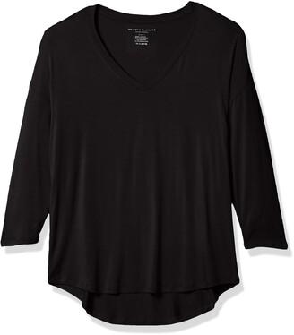 Majestic Filatures Women's Short Sleeve V-Neck