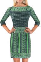 Gretchen Scott Border Dress Kanga Dress